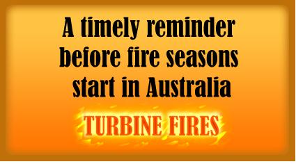 wind turbine fires