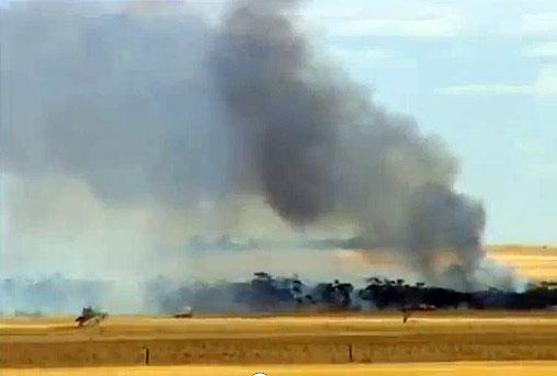 WIND TURBINES FAN FIRE RISK