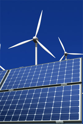 Solar Photovoltaic (PV) Systems and Wind Turbines