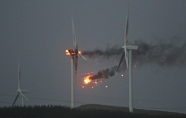 Overheated bearings, gearboxes among causes of wind turbine fires