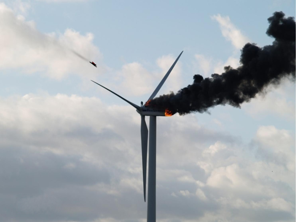 Fires are major cause of wind farm failure, according to new research