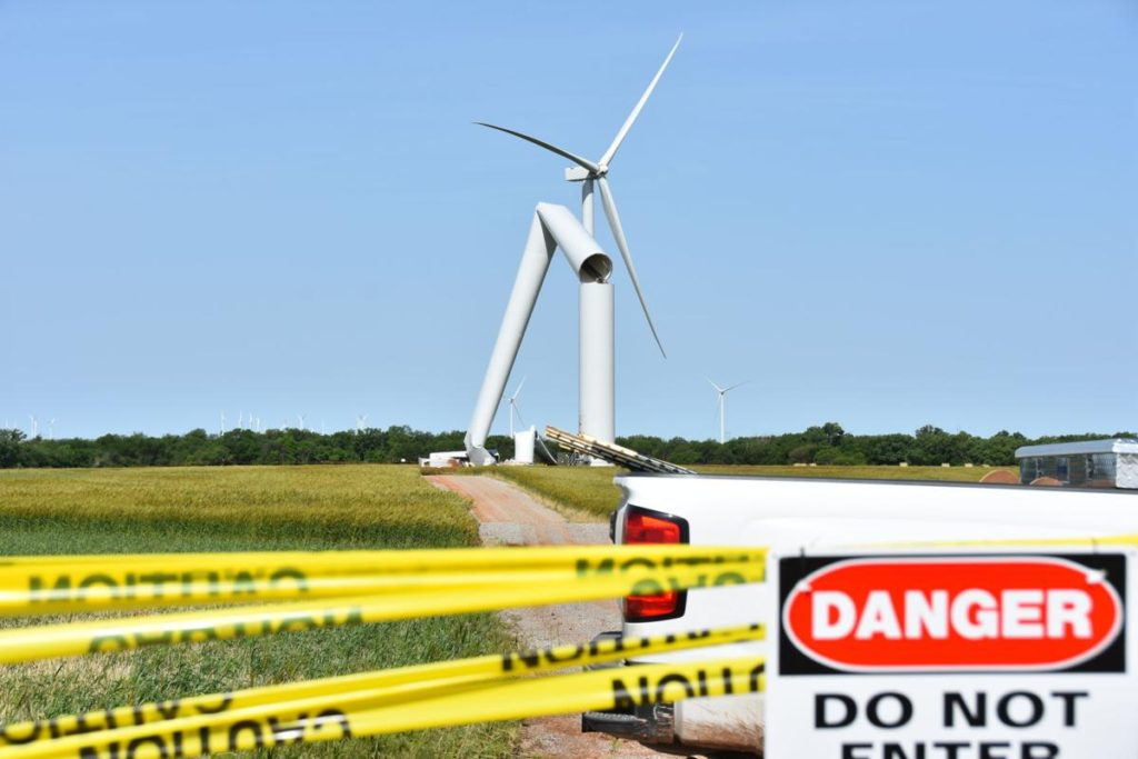 Wind Turbine Accidents
