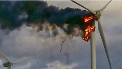 Wind Turbines and Fires