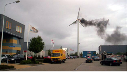 Overview of Problems and Solutions in Fire Protection Engineering of Wind Turbines
